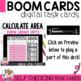 Boom Cards Calculating Area