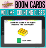 Boom Cards™: Calculating Volume by Counting Cubic Units SELF-GRADING!!