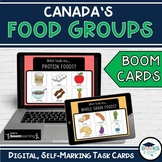 Boom Cards - Canada's Food Groups