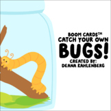 Boom Cards™️ Catch Your Own Bugs!