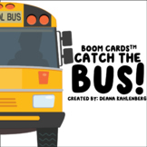 Boom Cards™️ Catch the Bus!