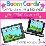 Boom Cards™  Caterpillar Counting (1-10)