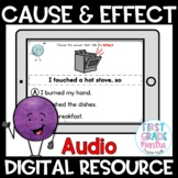 Boom Cards Cause and Effect Reading Comprehension