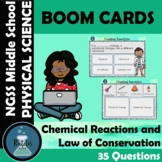 Boom Cards Chemical Reactions and Law of Conservation of M