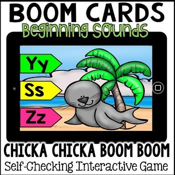 Boom Cards- Chicka Chicka Beginning Sounds (digital)