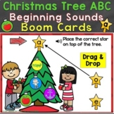 Boom Cards Christmas Beginning Sounds, Letter Sounds Digit