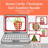 Boom Cards: Christmas Fact Family Activities Bundle (Dista