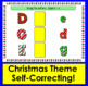 Boom Cards™ Christmas Letter Recognition Alphabet Match Upper to Lowercase