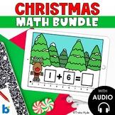 Christmas Math Bundle Kindergarten Boom Cards