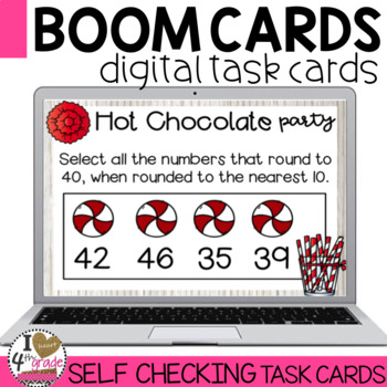 Boom Cards Christmas Math Review