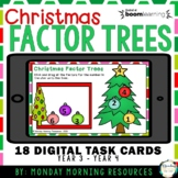 Boom Cards™ Christmas Trees - Find the Factors