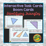 Boom Cards- Classifying Triangles