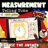 Boom Cards + Clip Cards | Telling Time