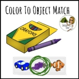 Boom Cards- Color to Object Match