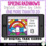 Boom Cards™Colour by Code 'Counting One more than' Numbers