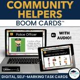 Community Helpers BOOM CARDS - Digital Interactive Task Cards