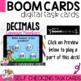 Boom Cards Compare Decimals