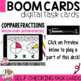 Boom Cards Compare Fractions (uncommon denominators)