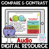 Boom Cards Compare and Contrast Reading Comprehension