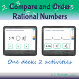 Boom Cards - Compare and Order Rational Numbers