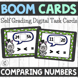 Boom Cards - Comparing Numbers