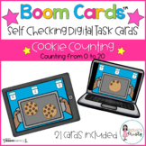 Boom Cards™  Cookie Counting (0-20)