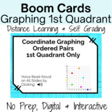 Boom Cards-Coordinate Graphing 1st Quadrant Distance Learn
