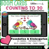 Boom Cards ™ Counting 0-20 - Love Birds - Distance Learning