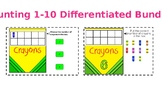 Boom Cards Counting 1-10 Differentiated Bundle