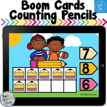 Boom Cards Counting 1-10 using ten frames