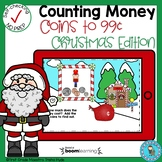 Boom Cards Counting Money Coins Christmas