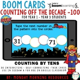 Boom Cards™ Counting Off the Decade to 100 - Distance Learning