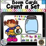 Boom Cards Counting a Set - Bugs in a Jar