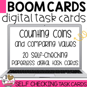 Boom Cards Counting and Comparing Coins