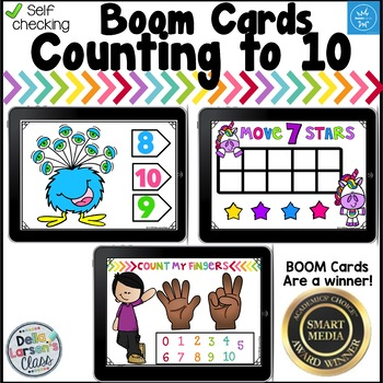 Boom Cards Counting to 10