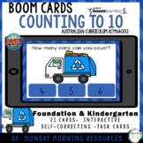 Boom Cards™ Counting to 10 - Earth Day Recycling - Distanc