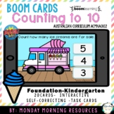 Boom Cards ™ Counting to 10 - Summer Ice Creams - Distance