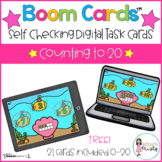 Boom Cards™  Counting to 20 FREEBIE