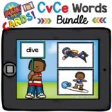 Boom Cards - CvCe Read it! Click it! - Distant Learning