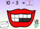 Boom Cards MATH DENTAL HEALTH MONTH Subtraction & Missing Addend Ten Frames