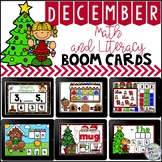 Boom Cards December Math and Literacy