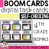 Boom Cards Decimals Bundle