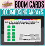 Boom Cards™: Decomposing Arrays into Rows and Columns SELF-GRADING!!