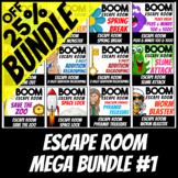 Boom Cards | Digital Escape Room Mega Bundle 1 | Distance