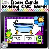 Digital Boom Cards Spring CVC Words