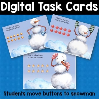 Boom Cards Digital Task Cards Counting 1-9