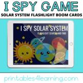 Boom Cards™ Digital Task Cards: I Spy Solar System Flashli