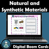 Natural and Synthetic Materials NGSS Boom Cards™ Digital Task Cards