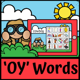 Boom Cards | Digraph OY | Diphthong OY | OY Sounds | Distance Learning