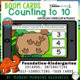 Boom Cards™ Dinosaur Stomp - Counting to 10 - Distance Learning